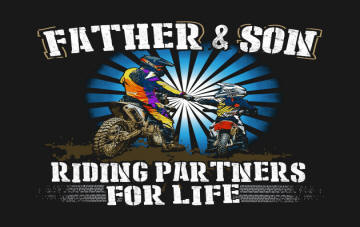 Image result for this dad races with son motocross